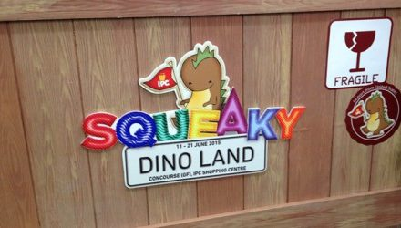Squeaky Dino Land @ IPC Shopping Centre
