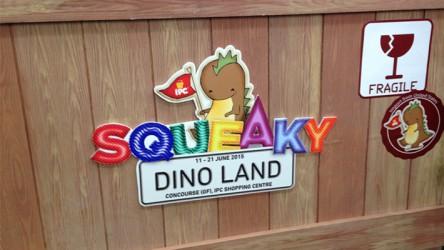 Squeaky Dino Land @ IPC Shopping Centre