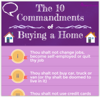 [Infographic] The 10 Commandments of Buying a Home