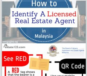 [Infographic] How To Identify A Licensed Real Estate Agent in Malaysia
