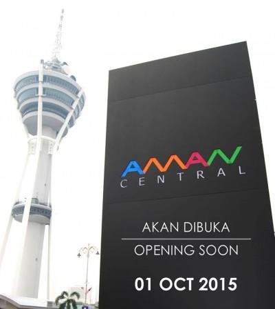 Aman Central Mall @ Alor Setar, Kedah