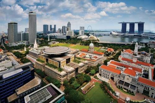 High demand for private residential property in Singapore