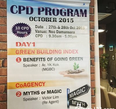 Estate123 Event Recap: CPD Program for Realtors @ Hangout123