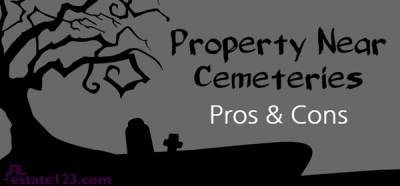 [Infographic] Pros & Cons of Property Near Cemeteries