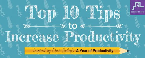 [Infographic] 10 Tips to Increase Productivity