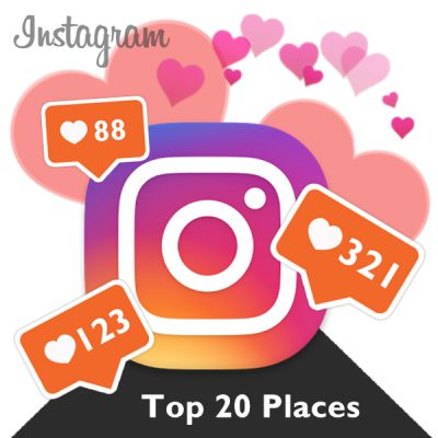 The World's 20 Most Instagrammed Tourist Attractions