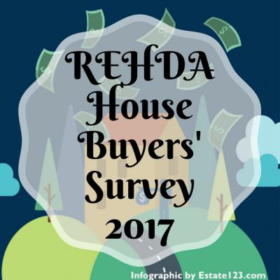 [Infographic] REHDA House Buyers' Survey 2017