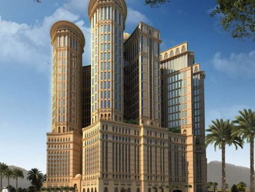Saudi Arabia is building one of the world's largest hotels in Mecca