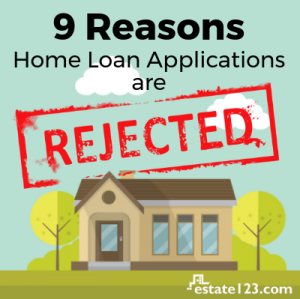 [Infographic] 9 Common Reasons Home Loan Applications Are Rejected
