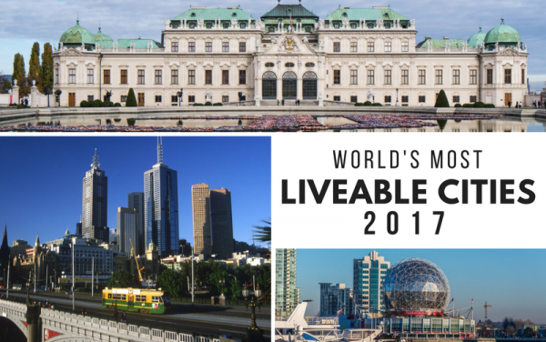 Top 10 Most Liveable Cities in the World 2017