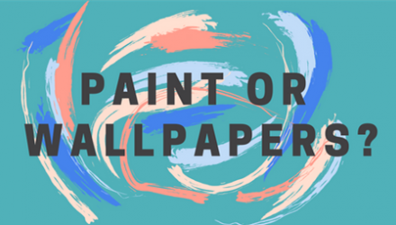 [Infographic] New Homeowners: Paint or Wallpaper?
