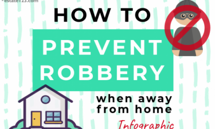 [Infographic] How To Prevent Robbery When Away From Home