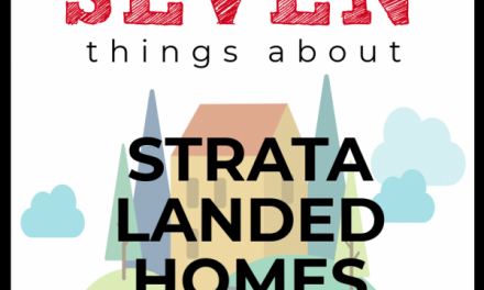[Infographic] 7 Things About Strata Landed Property