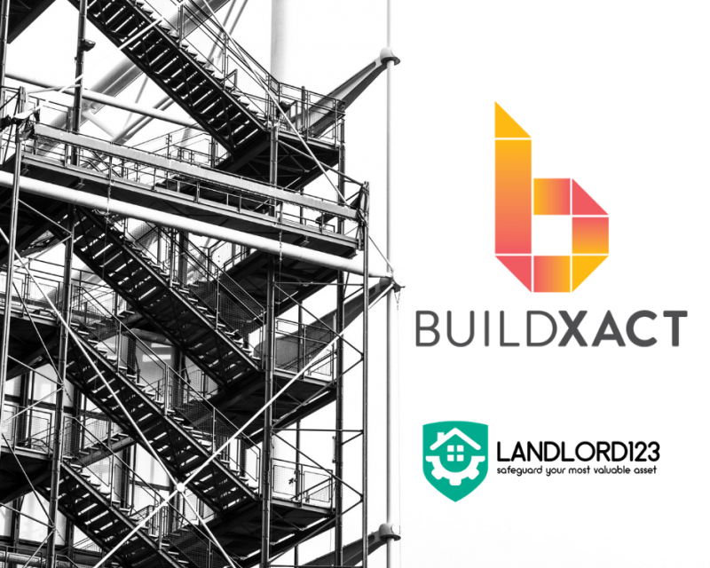 Landlord123 collaborates with Australia-based building management software Buildxact