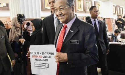 17 July 2019: Undi 18 Bill passed; Klang Valley water cut from 23-26 July