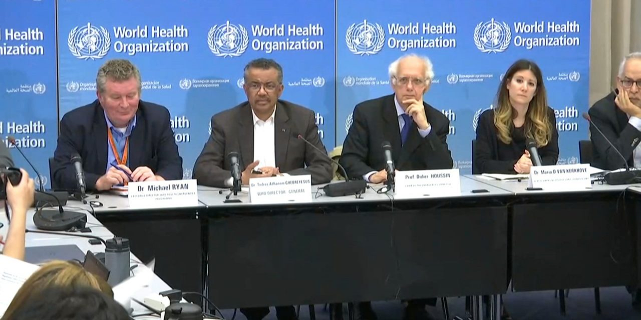 31 January 2020: WHO declares virus global emergency; Govt to revoke third party contracts, APs
