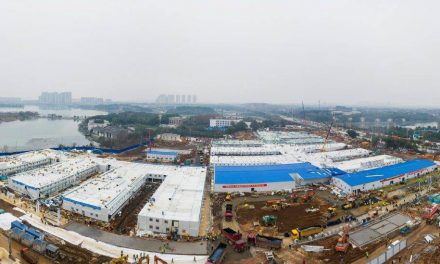 3 February 2020: China builds hospital in 10 days; Gurney Wharf to be completed by August 2021