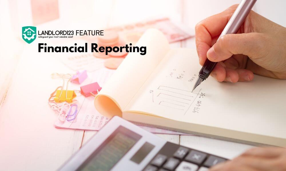 Landlord123 Feature: Financial Reporting