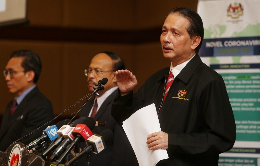 10 April 2020: MoH will brief PM on MCO decision; Almost 50% self-employed M'sians jobless