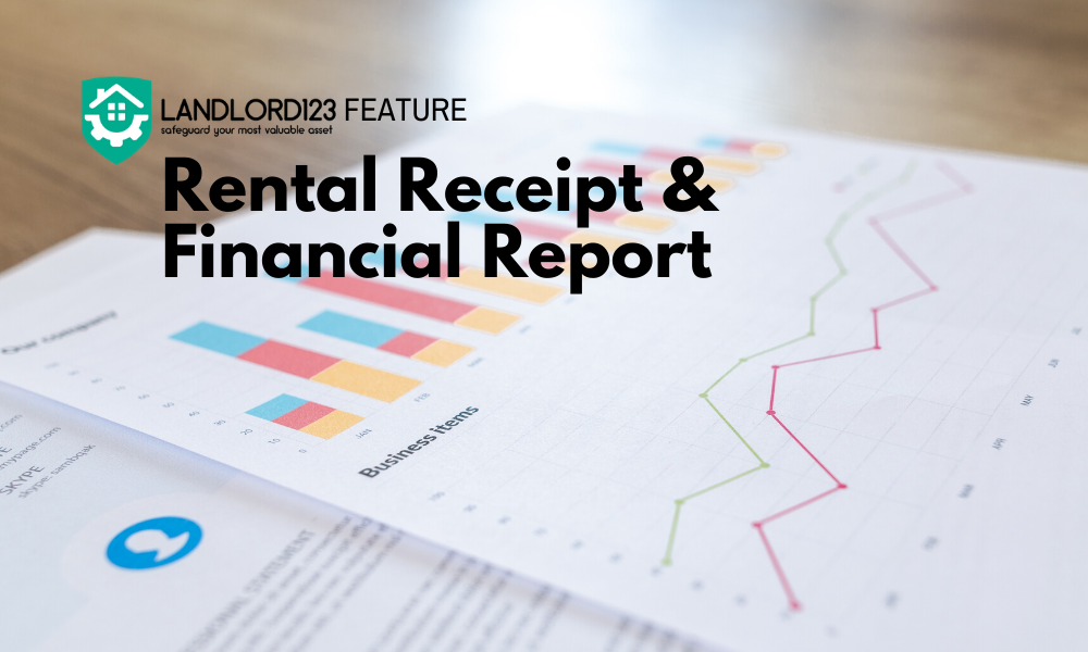 Landlord123 Feature: Rental Receipt & Financial Report Download