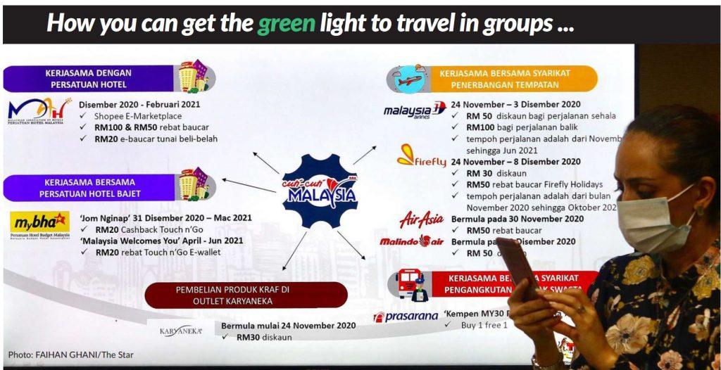 Green Zone Domestic Travel Bubble