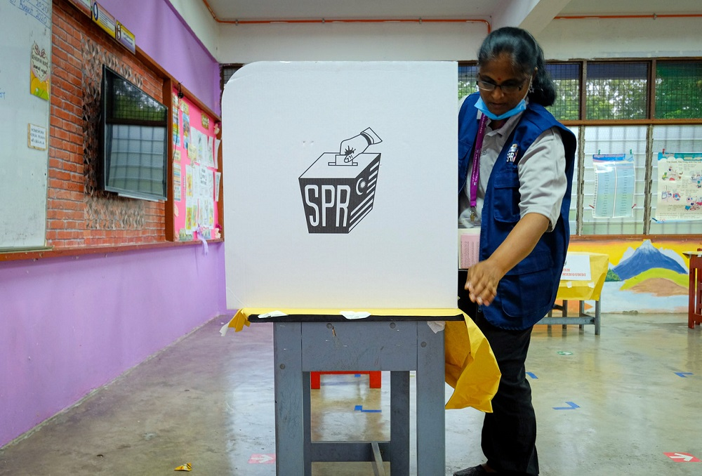SPR election voting booth SOP