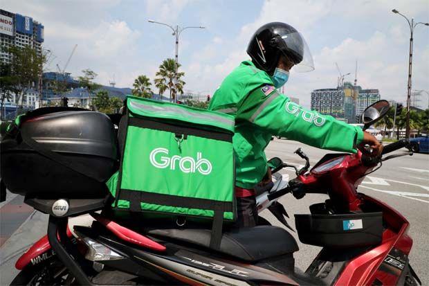 Grab Grabfood delivery rider