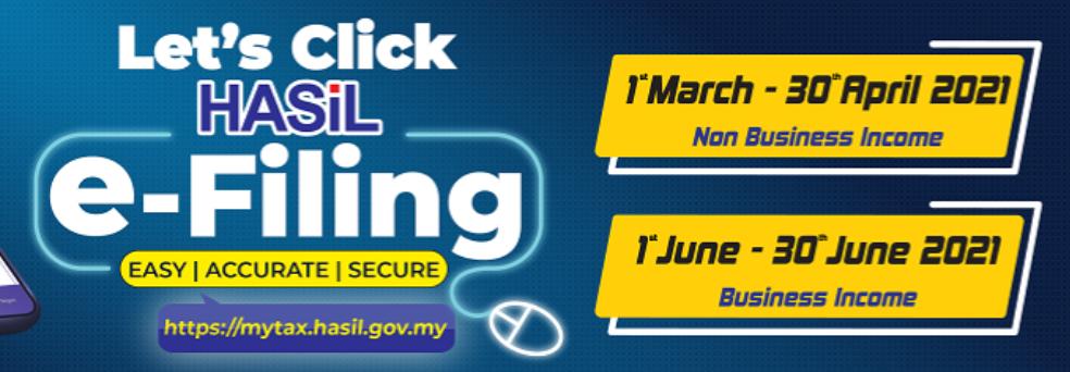 Let's Click HASiL income tax e-filing