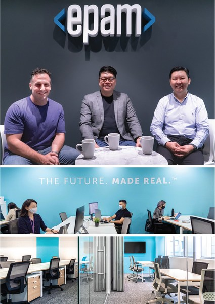 Arcc Spaces Designs Personalized Office Space for EPAM Singapore