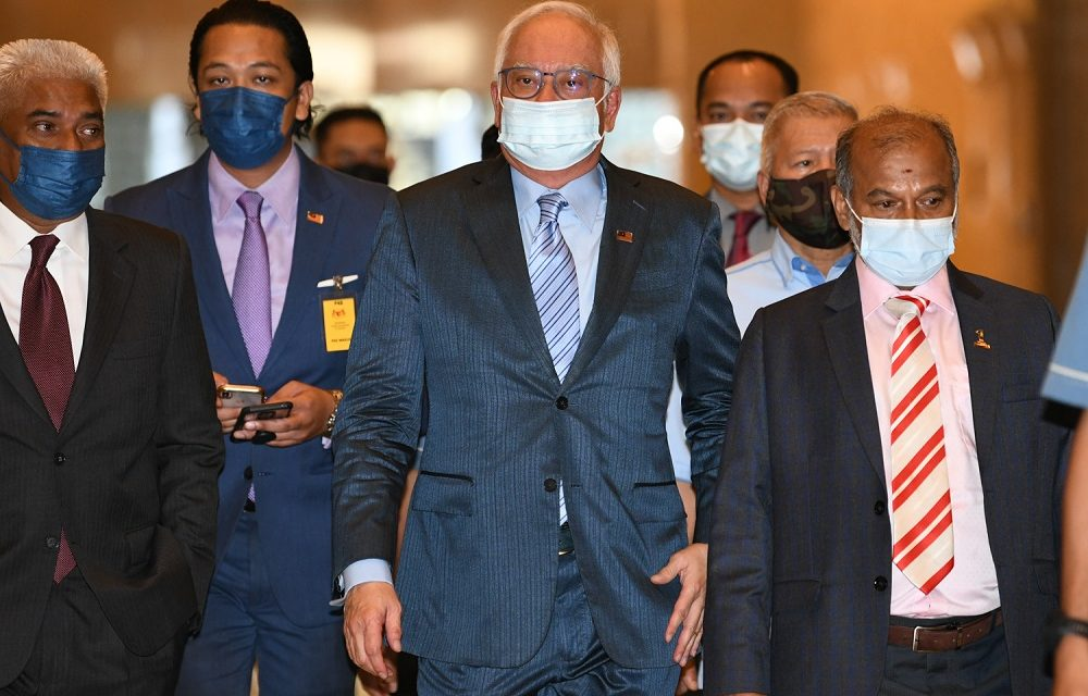 7 April 2021: Najib served with bankruptcy notice; AstraZeneca benefits outweigh risks