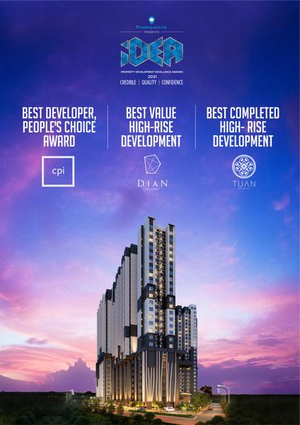 Boutique Developer CPI Land Clinches Three Accolades at iDEA 2021