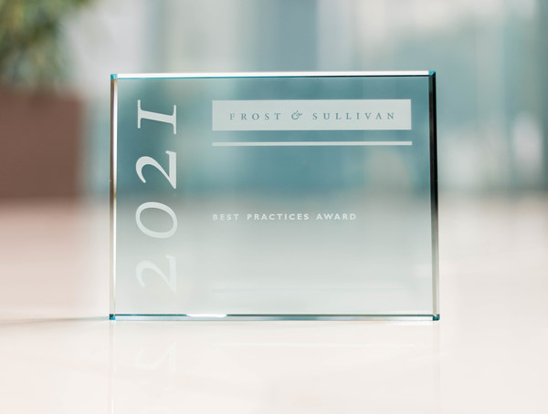 Frost & Sullivan Best Practices Recognizes Disruptive Companies with Prestigious Industry Awards