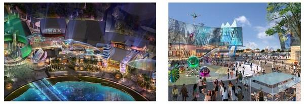 JERDE: Universal CityWalk at Universal Studios Beijing, Beijing, China (Opening July 2021)