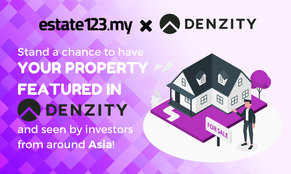Estate123 x Denzity: Get Your Property Listing Featured Internationally!